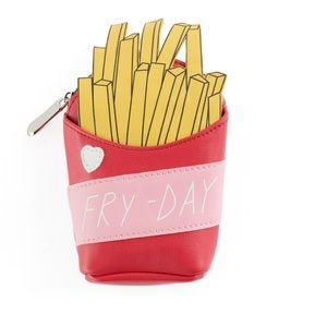 Handbags - Fry-day French fry coin purse